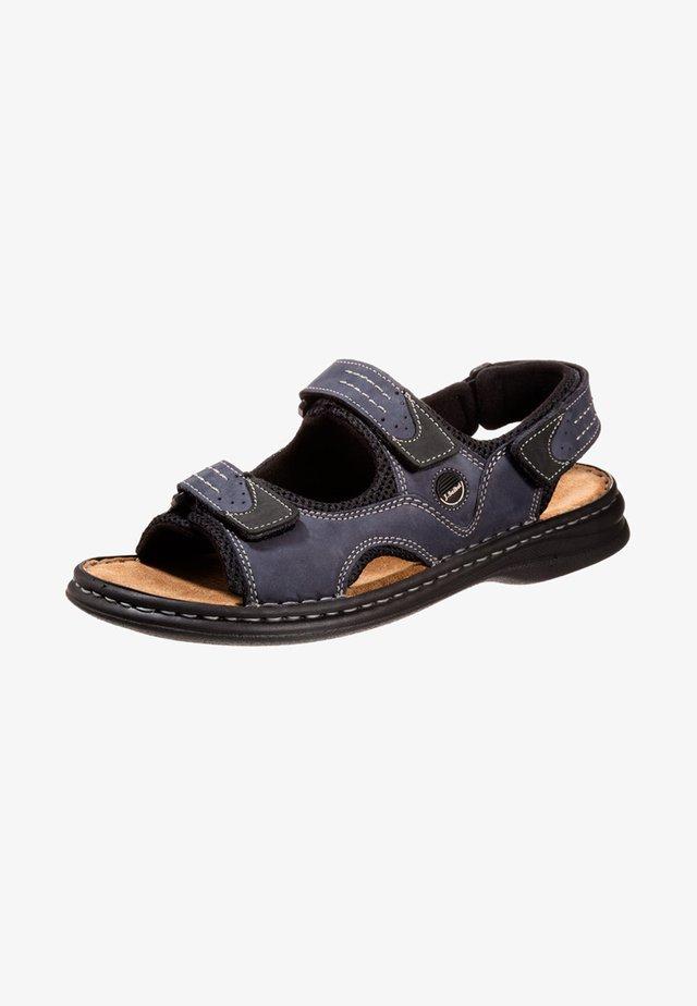 FRANKLYN - Walking sandals - ocean/schwarz