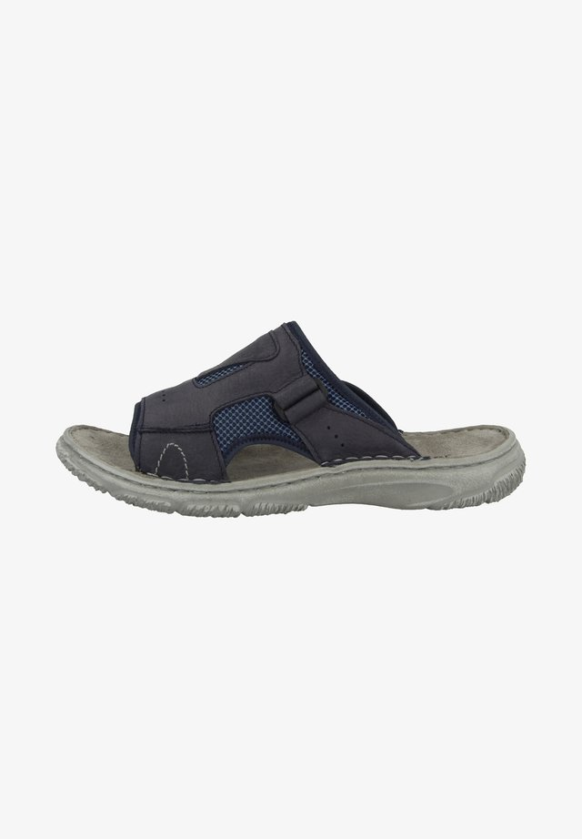 CARLO - Slippers - dark blue