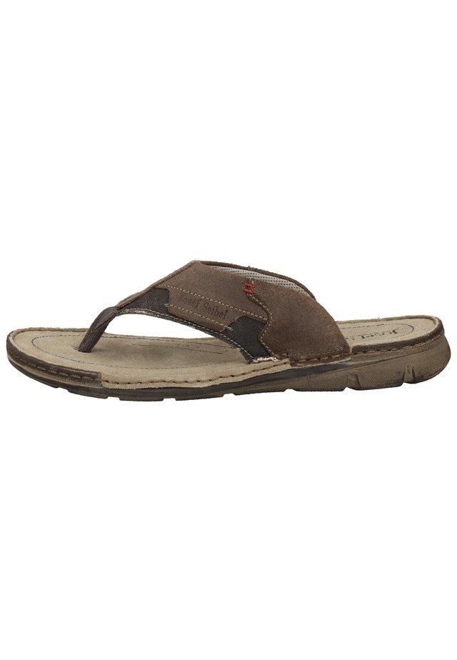 JOSEF SEIBEL - T-bar sandals - blau-kombi 501