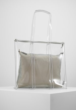 SHOPPER SET - Tote bag - clear