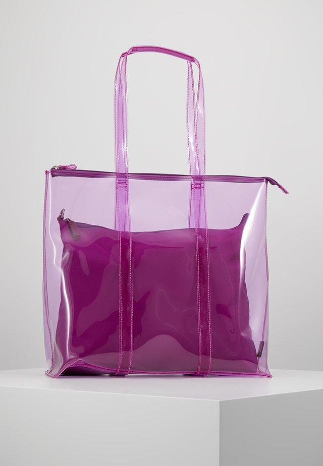 SHOPPER SET - Tote bag - lila