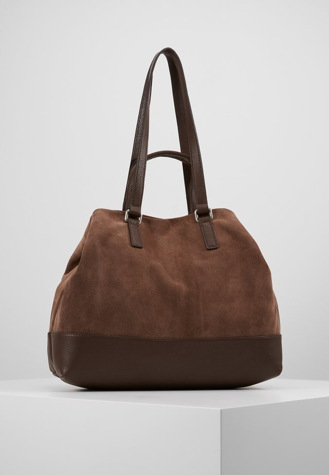 SHOPPER - Tote bag - mocca