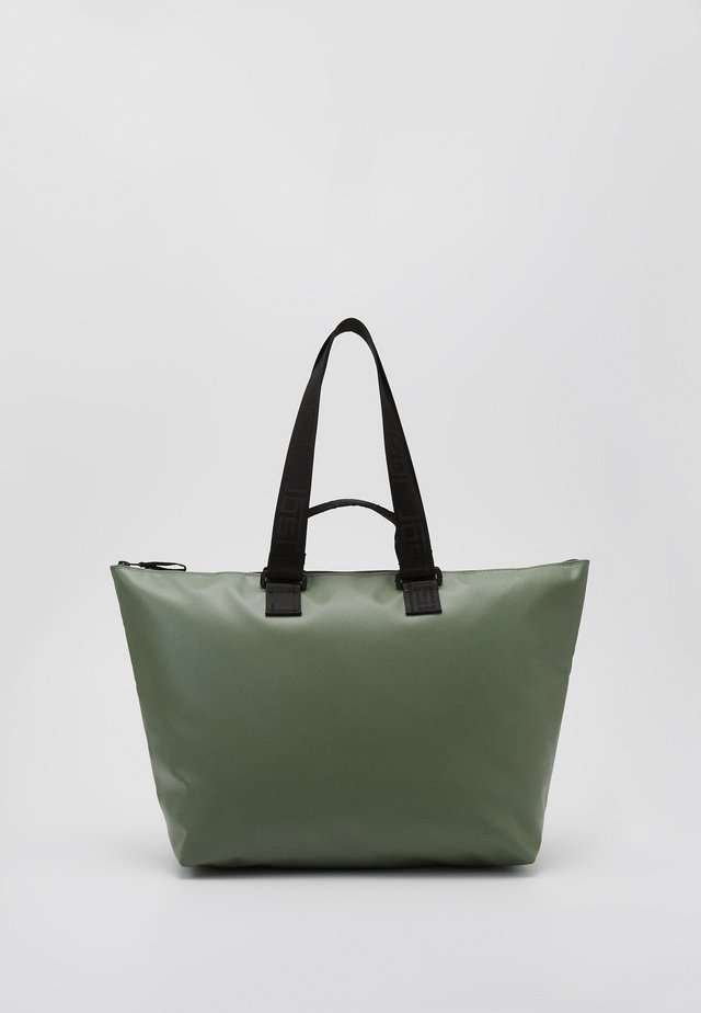 TOLJA - Shoppingveske - olive