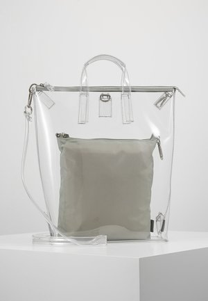 CHANGE BAG 3-IN-1 - Batoh - clear