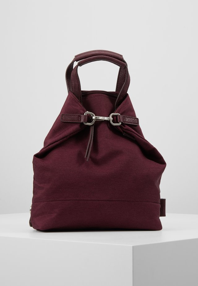 XCHANGE BAG MINI - Rucksack - bordeaux