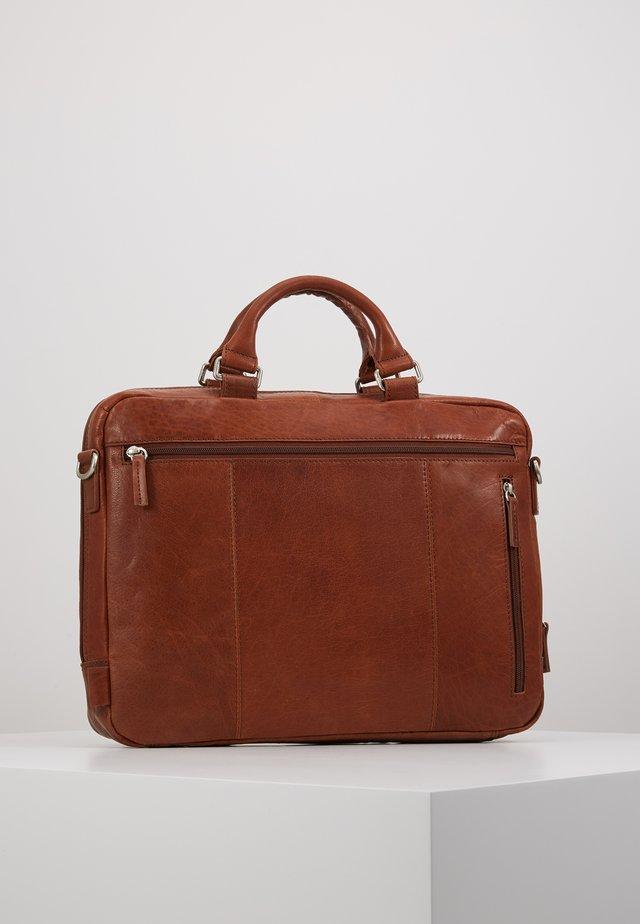 MALMÖ BUSINESS BAG - Briefcase - cognac