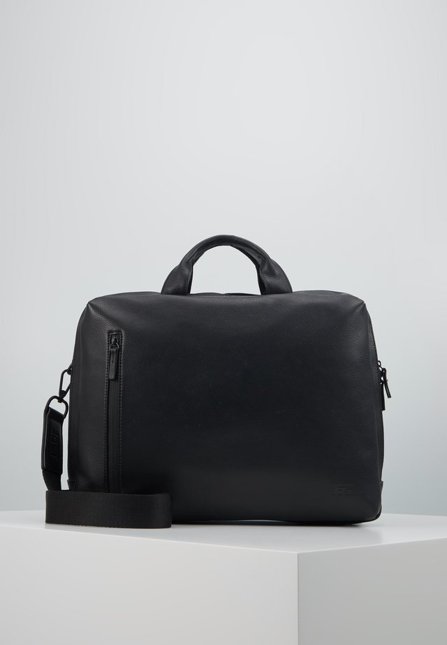 HYBRID BUSINESS BAG PEBBLE - Laptop bag - black