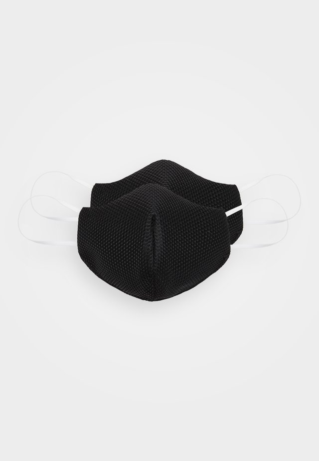 COMMUNITY MASK 2 PACK - Maska z tkaniny - black
