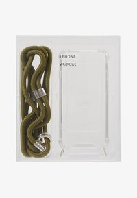 Jost - IPHONE CASE NECKLACE - Obal na telefon - olive uni - 1