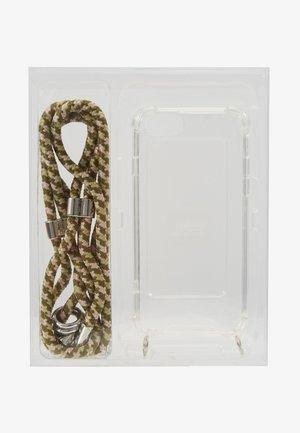 IPHONE CASE  NECKLACE SET - Mobiltasker - olive pat