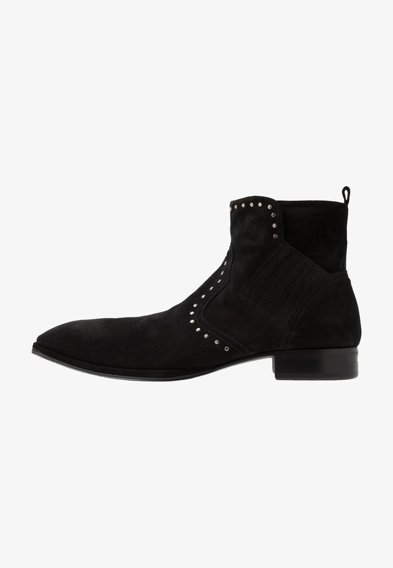 Jo Ghost - Cowboy/biker ankle boot - nefer nero