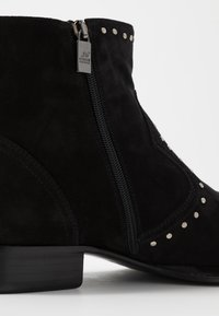 Jo Ghost - Cowboy/biker ankle boot - nefer nero - 6