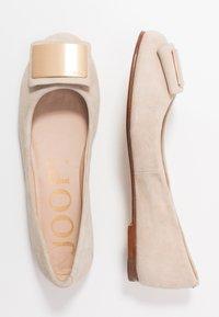 JOOP! - ANTHEA - Ballet pumps - beige/gold - 3