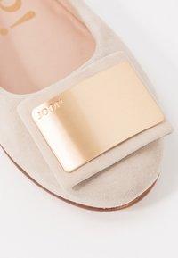 JOOP! - ANTHEA - Ballet pumps - beige/gold - 2