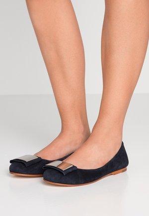 ANTHEA - Ballet pumps - dark blue