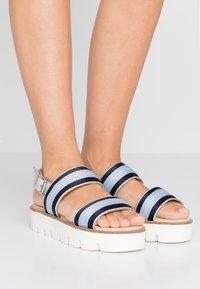 JOOP! - LILIANA - Sandály na platformě - light blue - 0