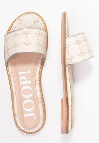 JOOP! - LILIANA SLIP ON  - Pantofle - offwhite - 3
