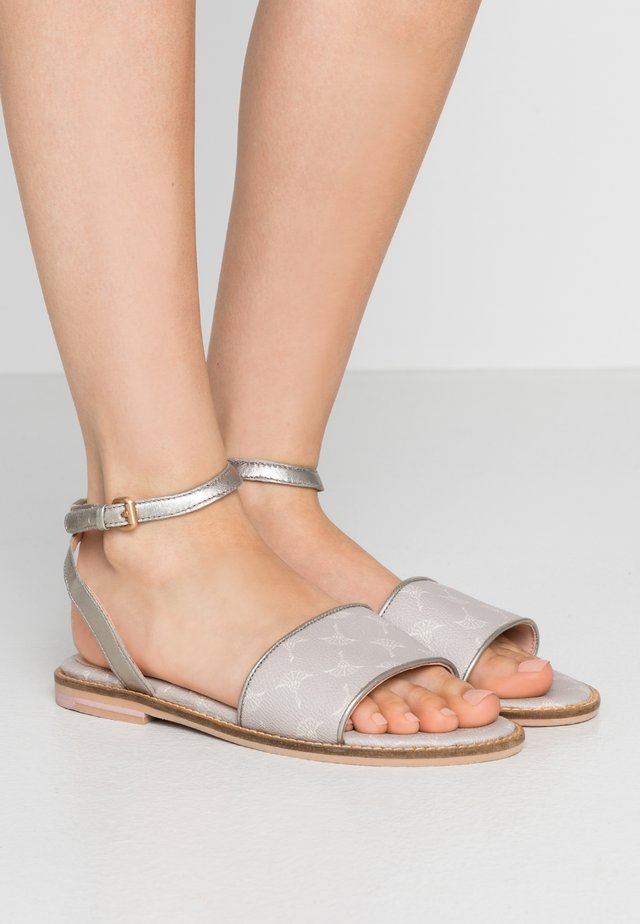 CORTINA LILIANA  - Sandals - light grey