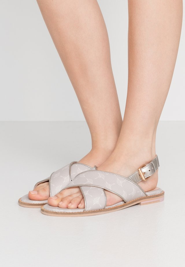 CORTINA LILO - Sandals - light grey