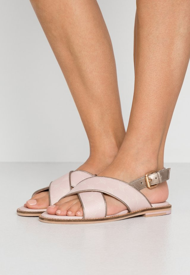CORTINA LILO - Sandals - rose