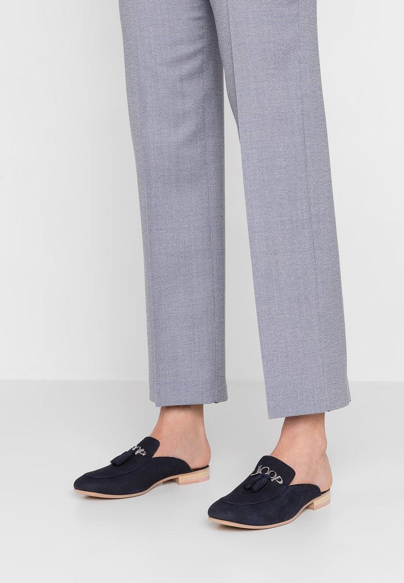 JOOP! - APERTA SLIP ON - Pantolette flach - dark blue