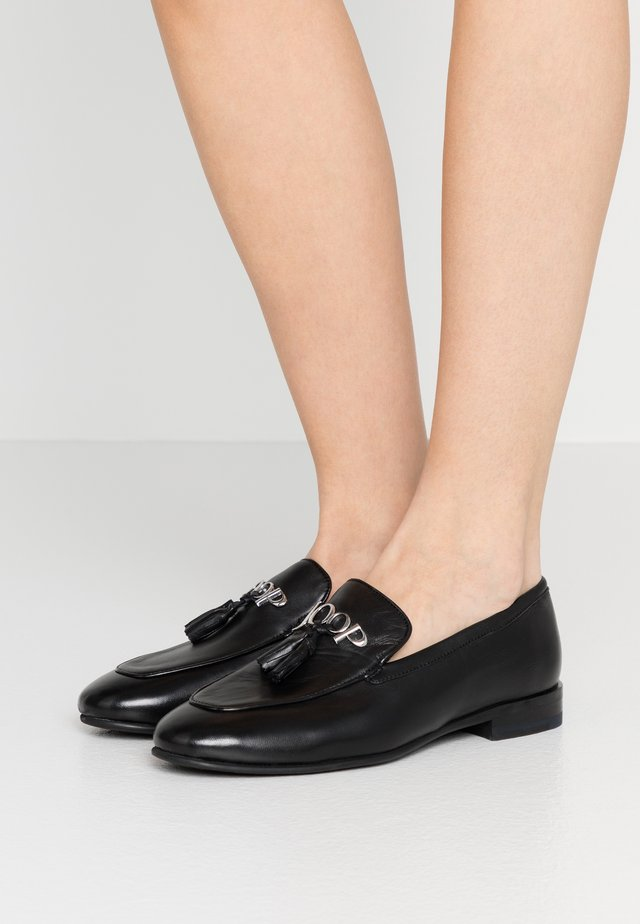 NAUSICA FILIPPA  - Loaferit/pistokkaat - black