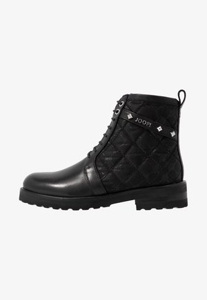 MARIA BOOT - Bottines à plateau - black