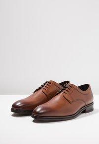 JOOP! - KLEITOS  - Elegantní šněrovací boty - cognac - 2