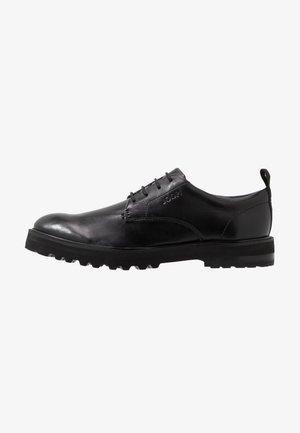 DANILO DERBY - Zapatos de vestir - black