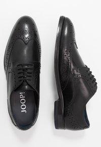 JOOP! - KLEITOS BROGUE  - Stringate eleganti - black - 1