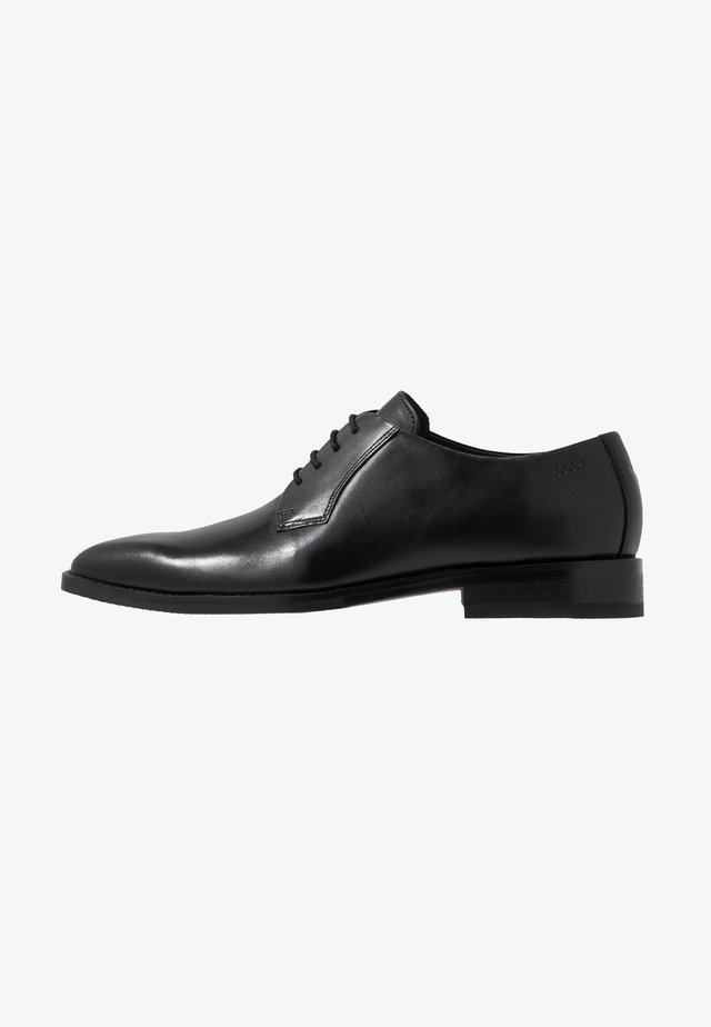 PHILEMON LACE UP - Klassiset nauhakengät - black