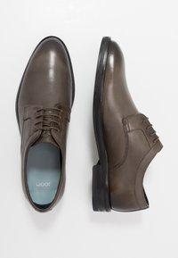 JOOP! - KLEITOS LACE UP - Elegantní šněrovací boty - dark grey - 1