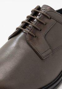 JOOP! - KLEITOS LACE UP - Elegantní šněrovací boty - dark grey - 5