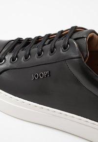 JOOP! - CORALIE - Matalavartiset tennarit - black - 5