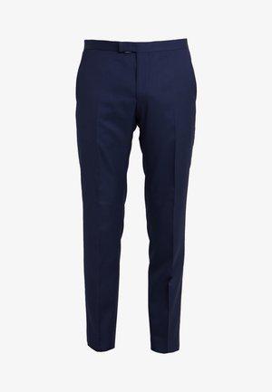 BASK  - Oblekové kalhoty - dark blue