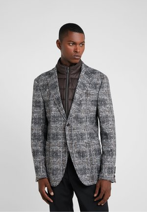HECTON - Blazer - grey/brown check