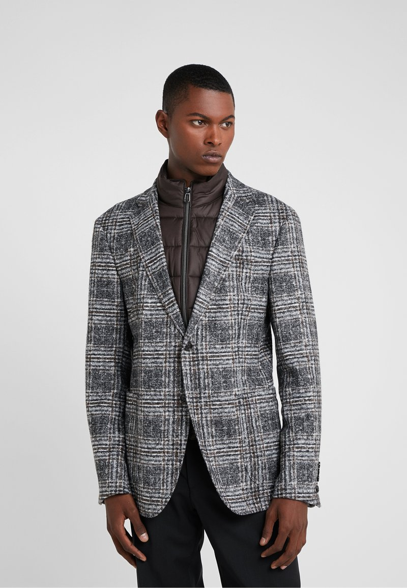 JOOP! - HECTON - Sako - grey/brown check