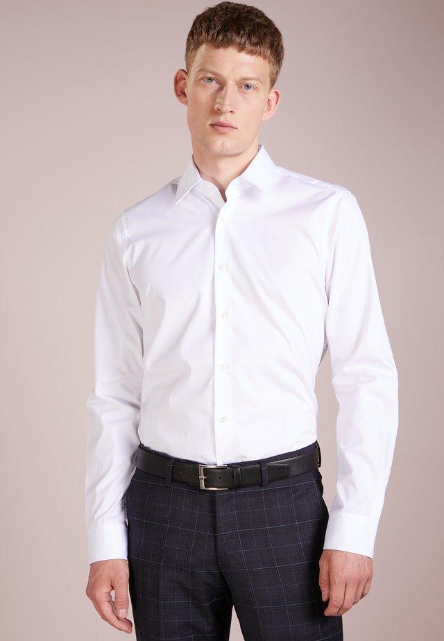 PIERCE SLIM FIT - Kostymskjorta - white