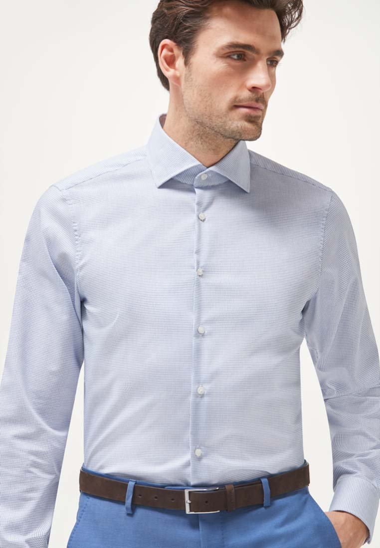 JOOP! - MIKA MODERN FIT - Formal shirt - blau/weiss