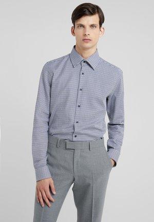 PYKE SLIM FIT - Zakelijk overhemd - black/dark blue/white