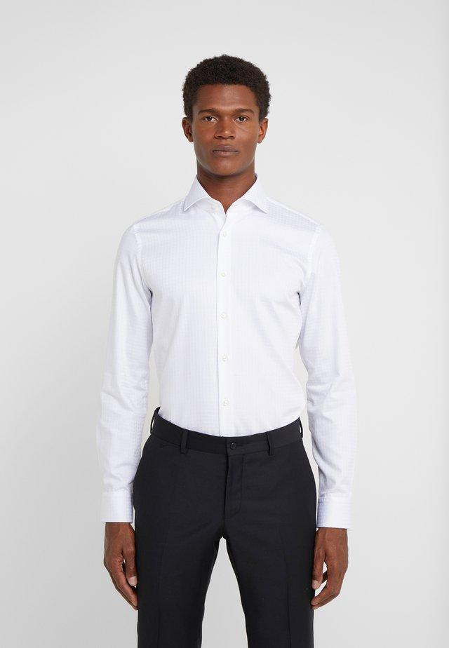 PANKO SLIM FIT - Businesshemd - white