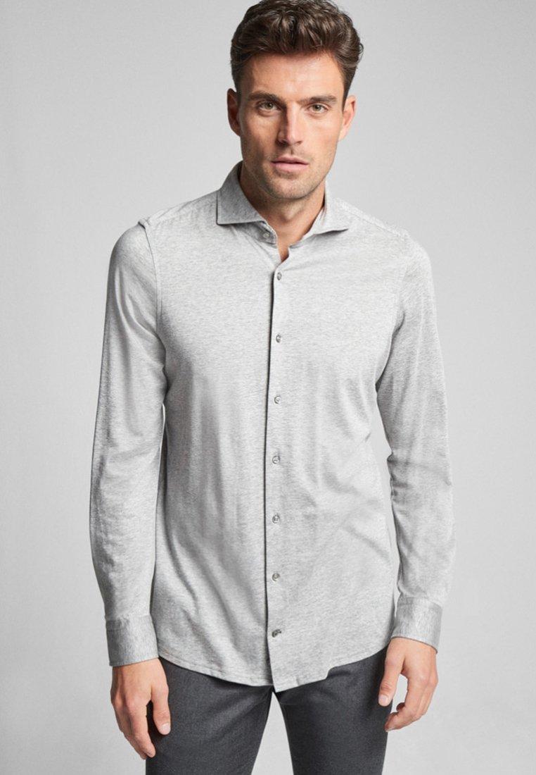 JOOP! - SLIM FIT - Shirt - mottled silver