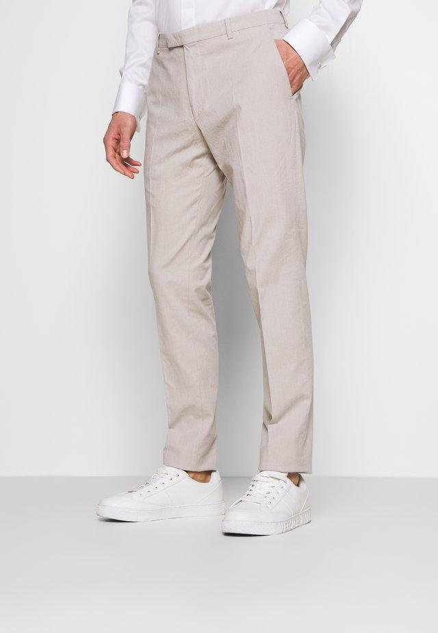 Oblekové kalhoty - beige