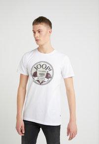 JOOP! Jeans - ALEX - Printtipaita - white - 0