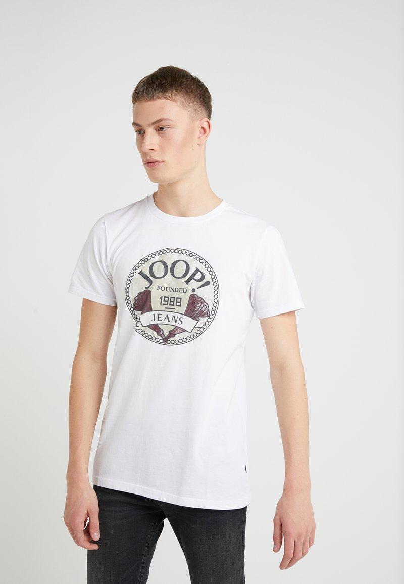 JOOP! Jeans - ALEX - Printtipaita - white