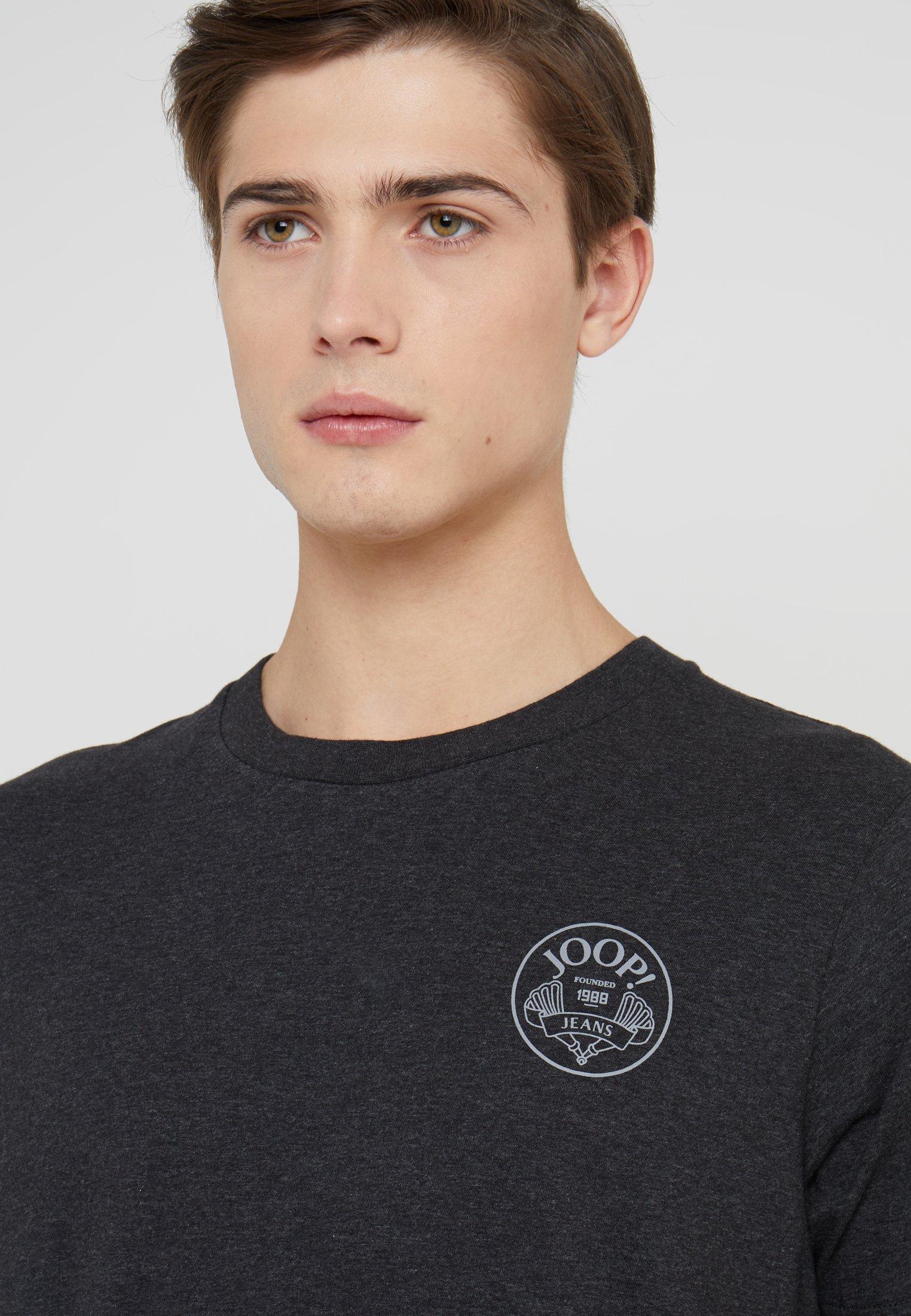 JOOP! Jeans ALEX - T-shirt basique anthracite