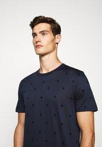 JOOP! - PANOS - Print T-shirt - dark blue - 3