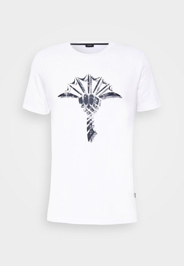 ALERIO  - T-shirt print - white