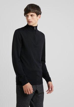 DARIO - Stickad tröja - black