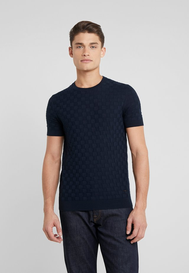 CAIDEN - T-Shirt print - navy